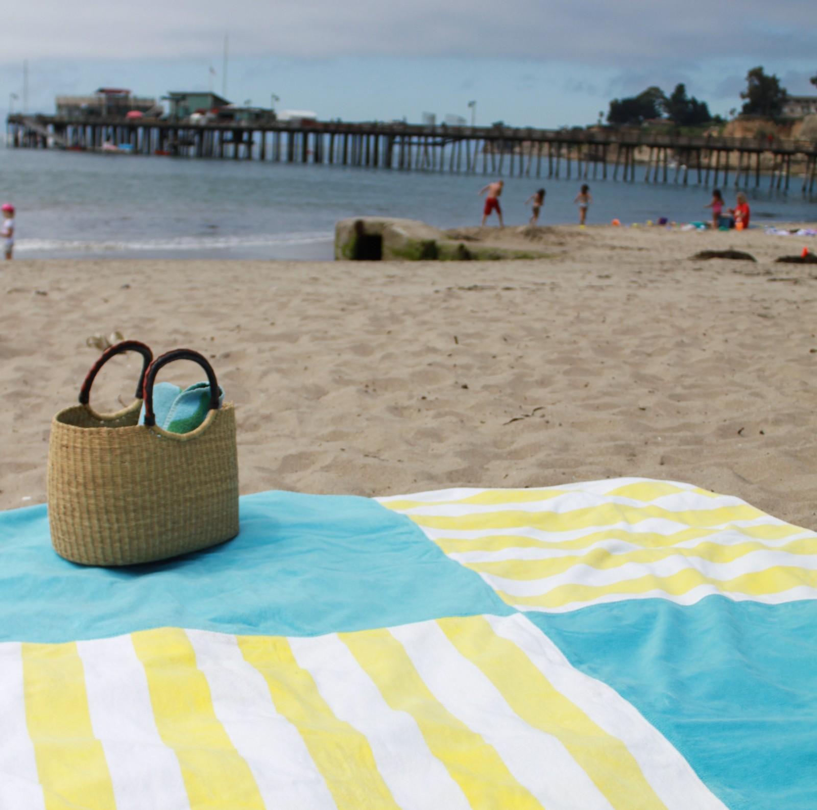 Beach Essentials Beach Blanket DIY