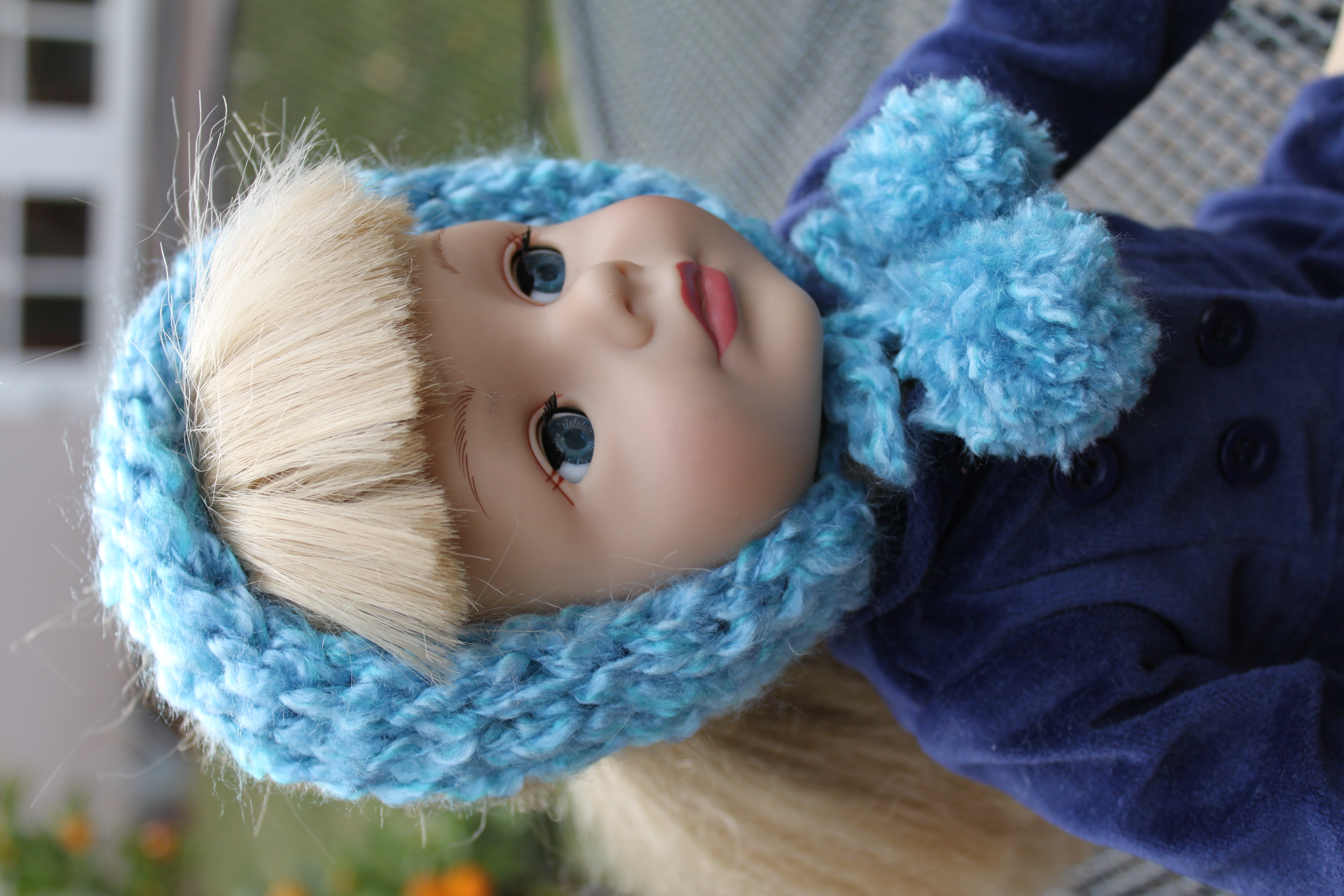 Knitting Nancy Spotlight : Toilet paper roll knitting nancy idea chic winter doll