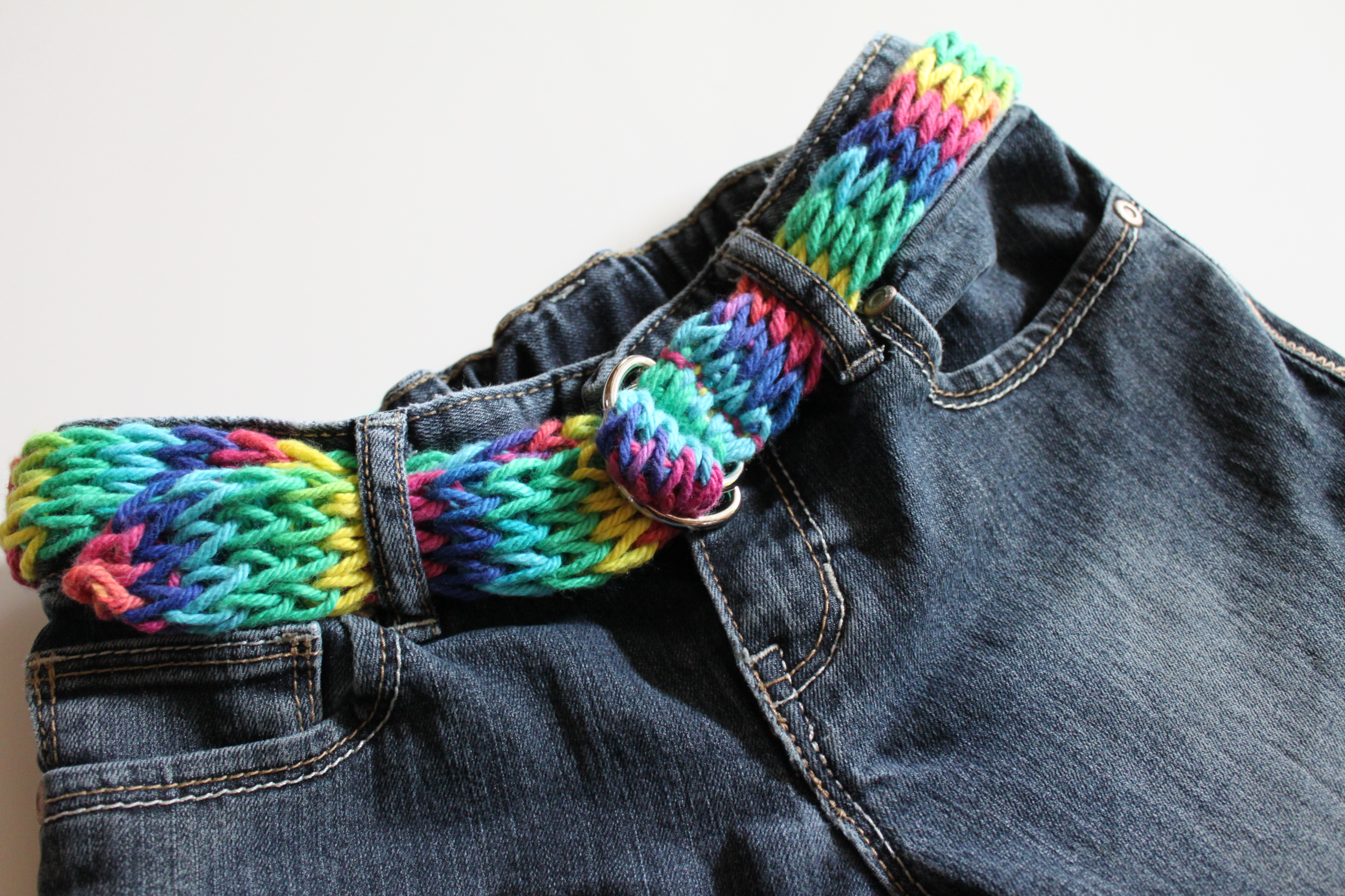 Knitting Nancy Spotlight : Toilet paper roll knitting nancy idea groovy belt my