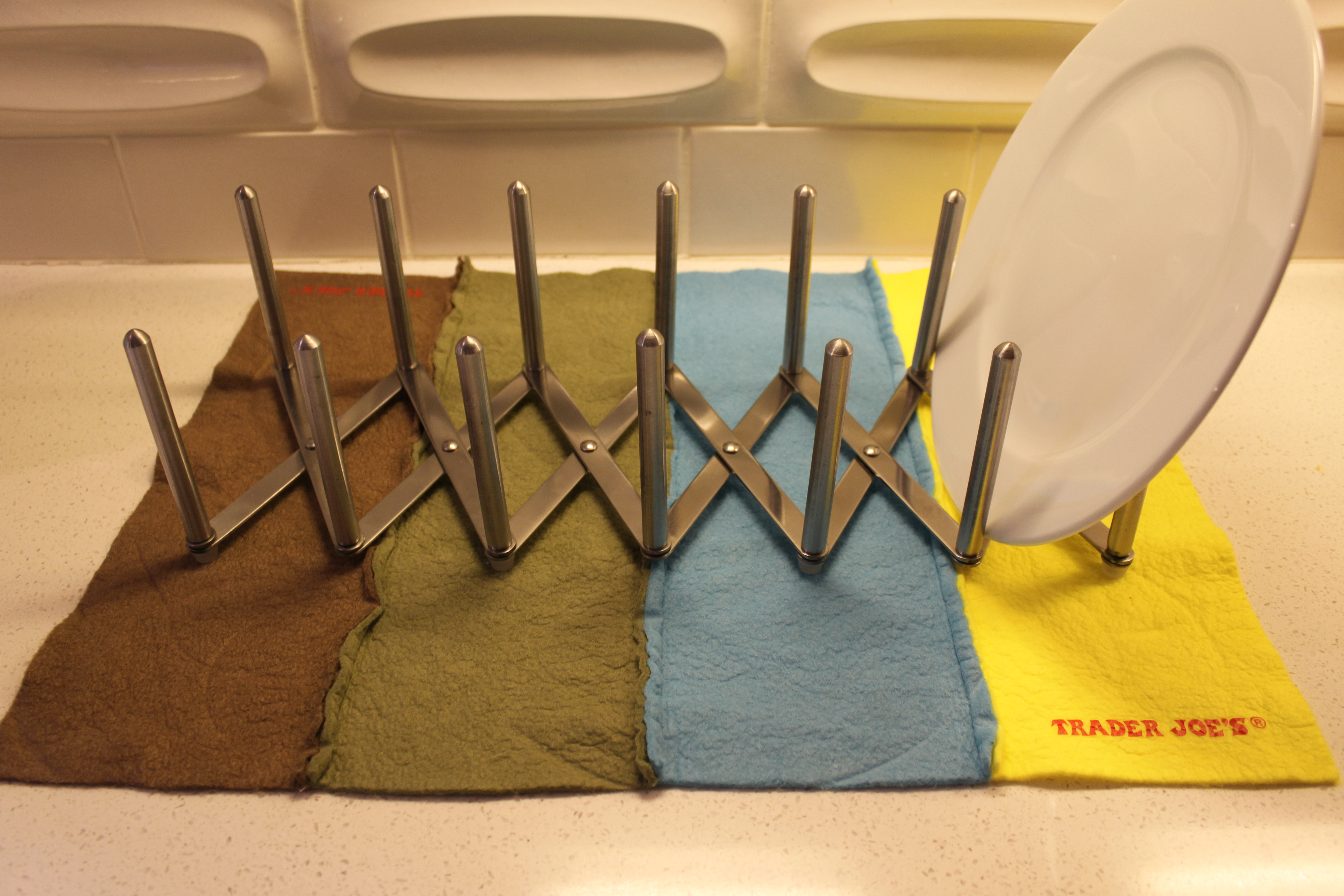 Ikea Variera Hanging Storage ~ Next, determine a pleasing arrangement for your bands of color I