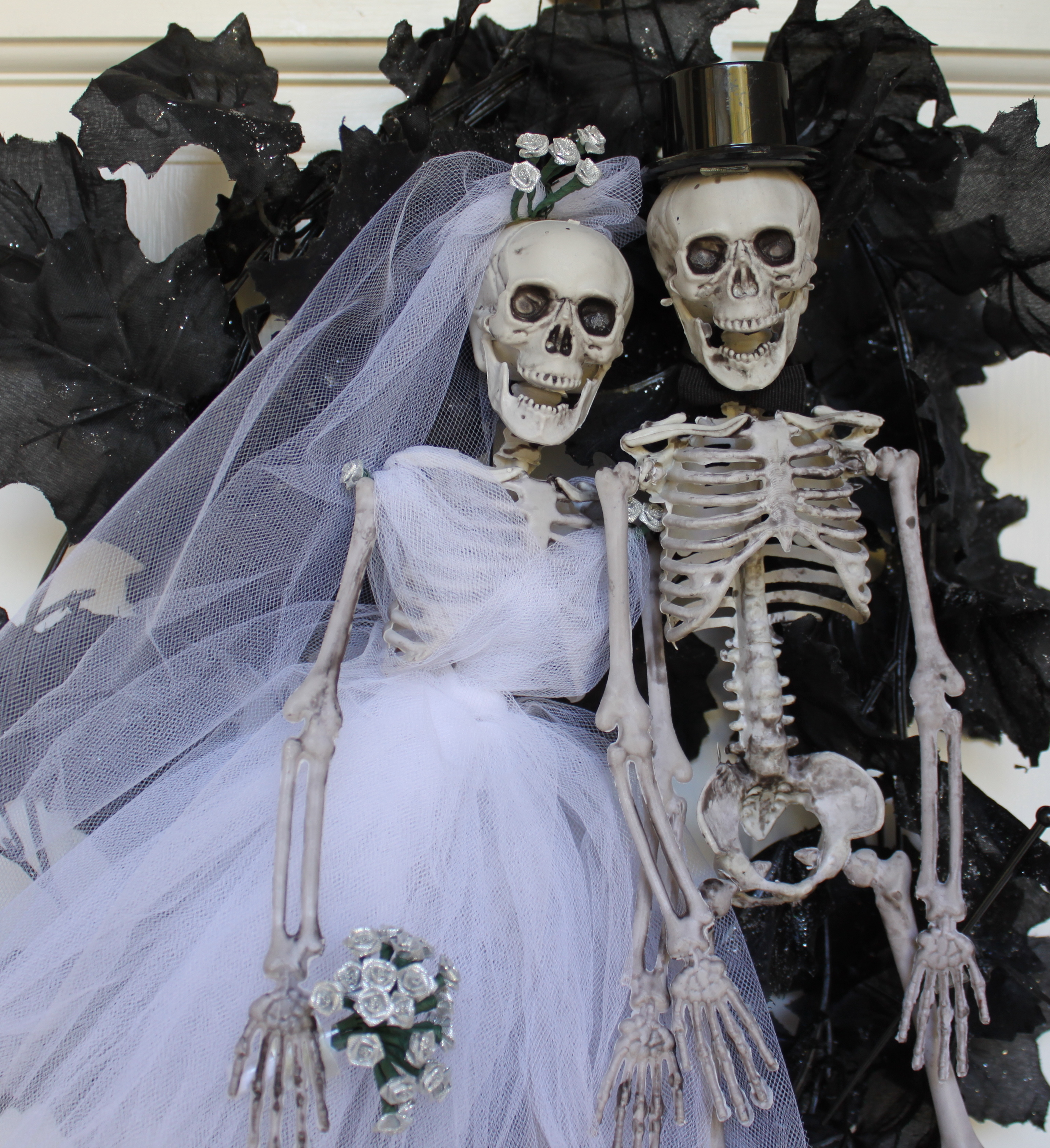 Happy Skeleton Couple My Material Life