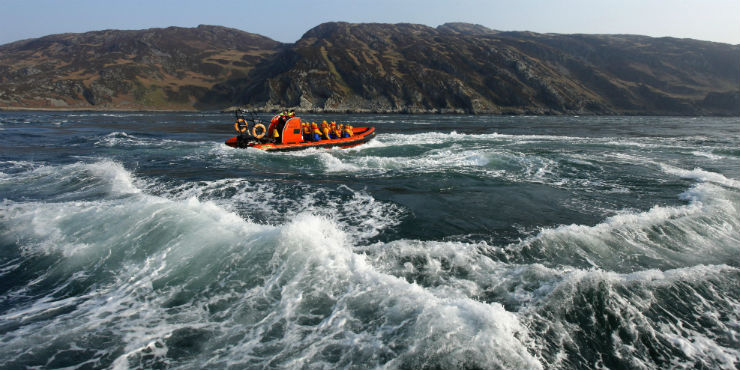Boat Trip to the Corryvreckan Whirlpool Source: visitscotland.com