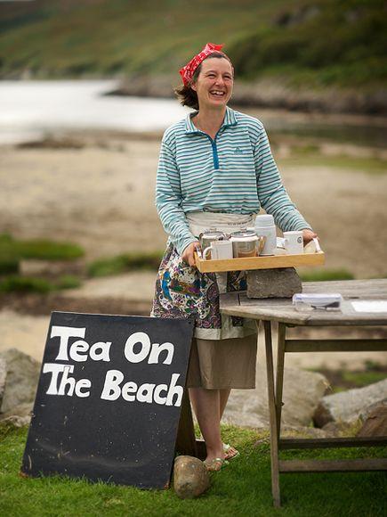 Georgina Kitching Serving Tea Source:  travel.nationalgeographic.com