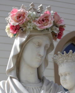 """Oh Mary, we crown thee with blossoms today, Queen of the Angels, Queen of the May.""  From Catholic Traditions in Crafts"