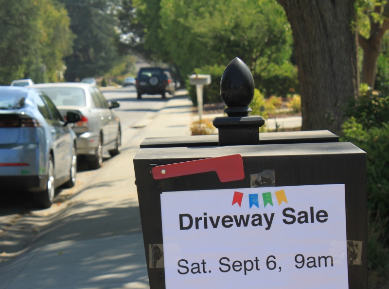 mml driveway sale sign