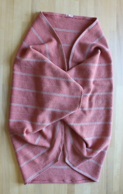 mml blanket jacket folded