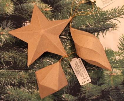 mml paper mache ornaments