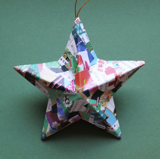 mml paper mache star side 1