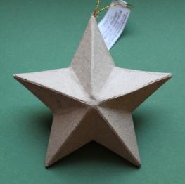 mml paper mache star