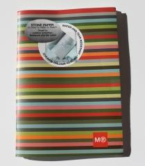 mml stone paper notebook