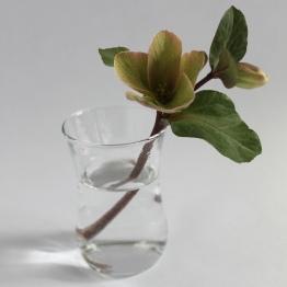 mml tulip glass vase