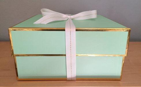 mml linen & lame gift box