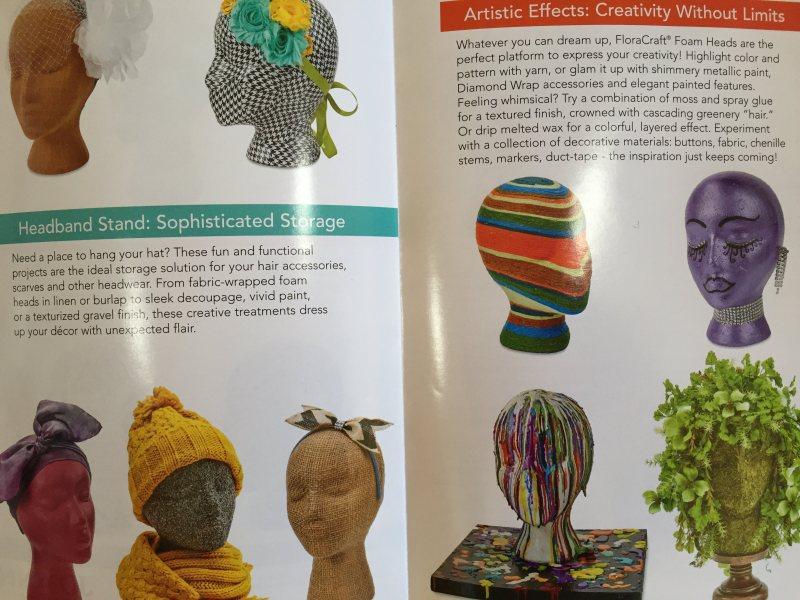 mml styrofoam head brochure
