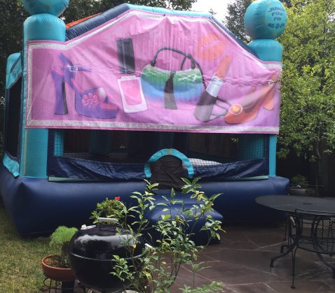 mml glamour bounce house
