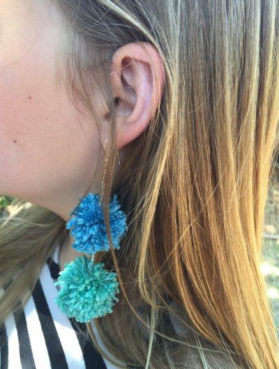 mml pom-pom earring