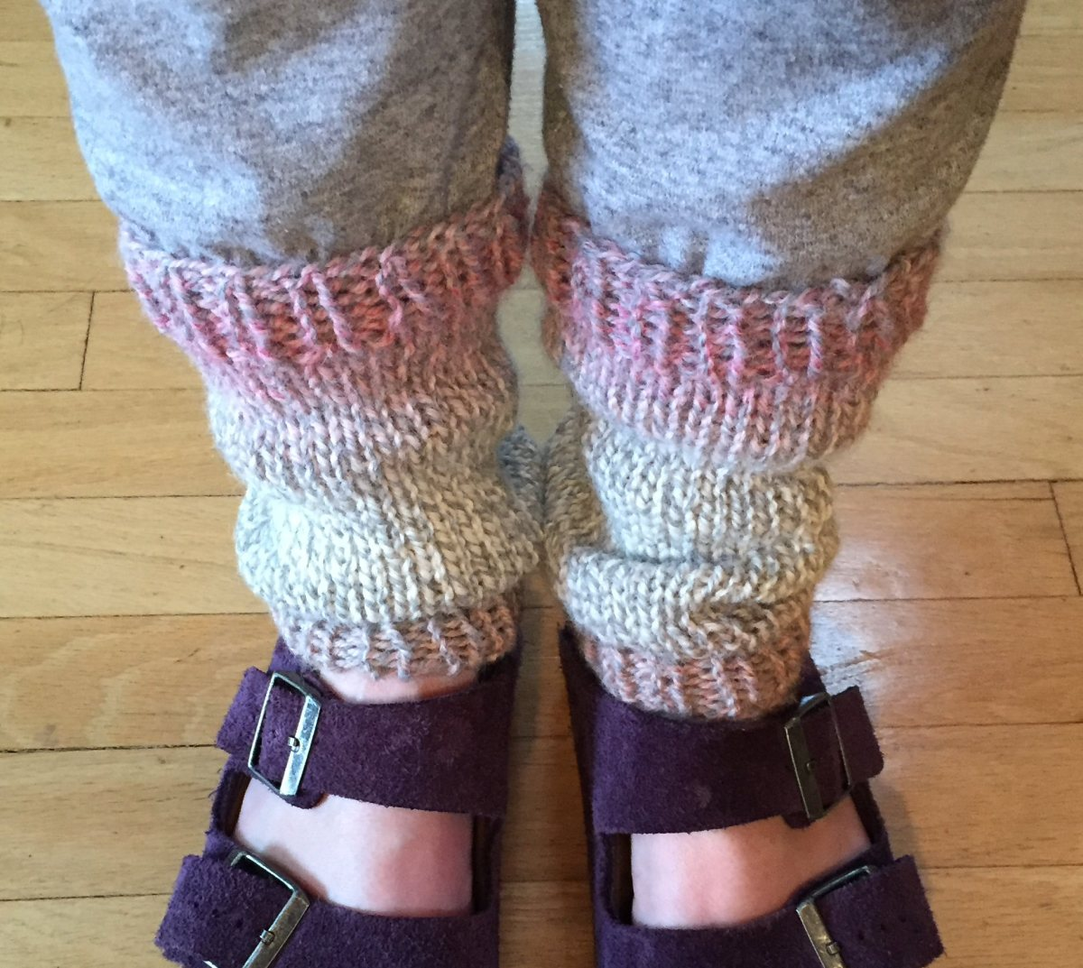 Easy Peasy Knit-In-The-Round Leg Warmers